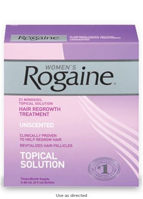 can african american women use rogaine hair loss in african american women