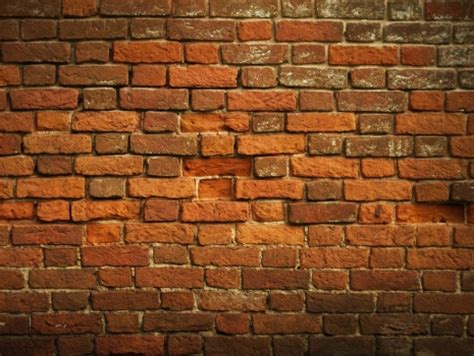 Tebok Motif Merah cuadro textura muro de ladrillos 100 a medida
