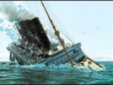 german u boat sinks the lusitania cause and effect r m s lusitania 2 youtube