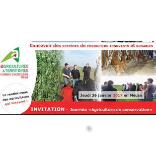 chambre d agriculture meuse journ 233 e technique quot agriculture de conservation quot 26 janvier