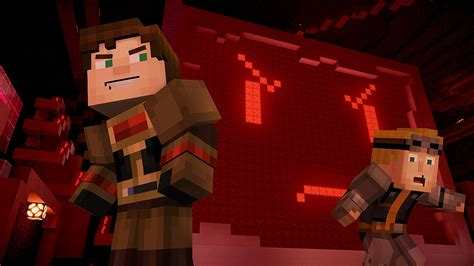 minecraft story mode episode  review artificial