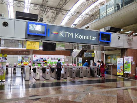 Ktm Komuter Stesen Sentral Kuala Lumpur Transport Hub That Links Kl