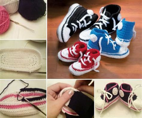 crochet converse slippers pattern free crochet converse slippers free pattern tutorial