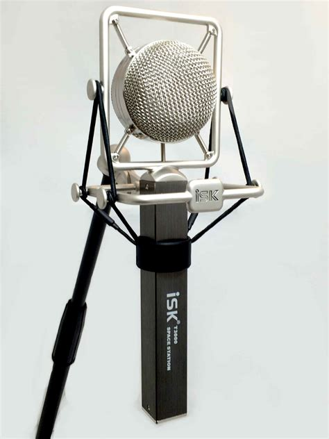 Isk At100 Professional Mic Condenser isk t 3000 starlight space station large diaphragm studio condenser microphone