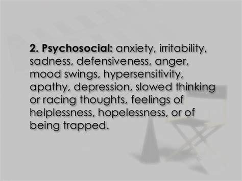 mood swings irritability anger stress at work