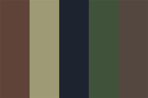 camo colors army camouflage color palette