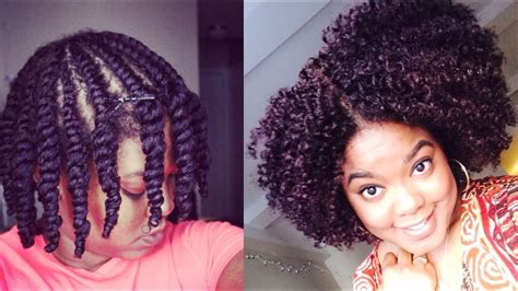 natural hair updated flat twist  youtube