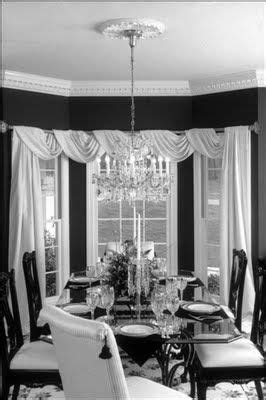 bay window drapes dining room eddy pinterest