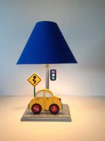 Base Valance Cars Table Lamps For Kids Room Kids Lamps By Under Ten