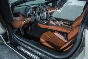 Lamborghini Interiors 2018 Lamborghini Aventador S Interior 2 Motor Trend