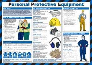 Used Woodworking Equipment Uk by Personal Protective Equipment Ppe Poster Laminated 59cm X 42cm