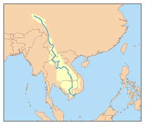 mekong river map mekong river simple the free encyclopedia