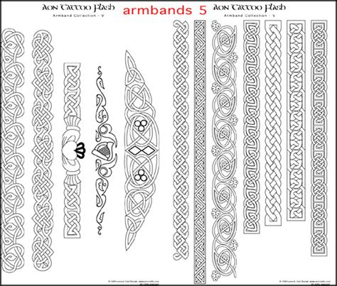celtic band tattoo designs aon celtic