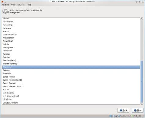 layout keyboard centos how to install linux centos minimal install geekpeek net