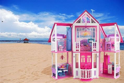 barbie doll beach house barbie s first dream house was a teeny studio apartment