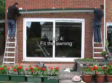 how to install an awning how to install an awning quick guide youtube