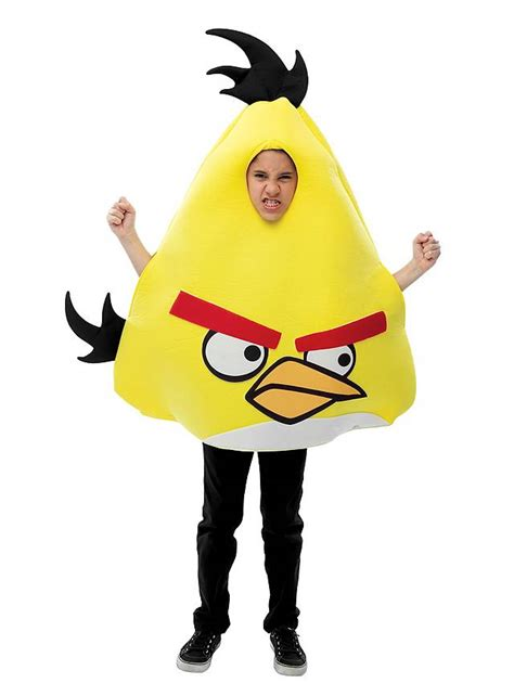 fancy dress costume adult gaming cartoon angry birds red med 38 40 angry birds kids costume yellow