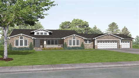 plans for ranch style homes craftsman style ranch house plans rustic craftsman ranch