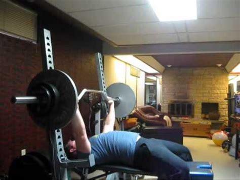 bench press 250 lbs 250 lbs x 20 bench cambered band bench 275 lb high
