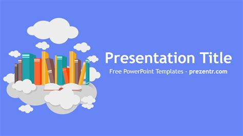 Free Book Powerpoint Template Prezentr Powerpoint Templates Powerpoint Template For