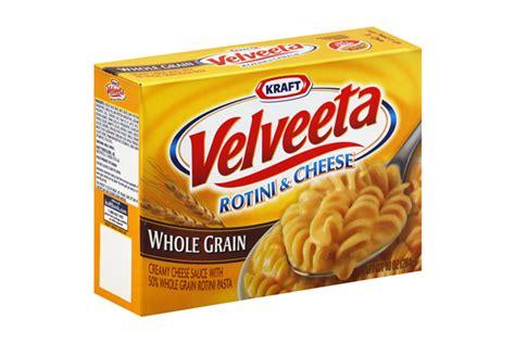 whole grain kraft mac and cheese velveeta macaroni and cheese calories