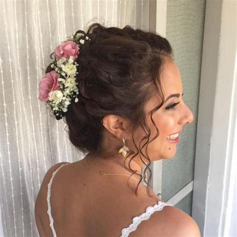 Wedding Hairstyles For Thin Hair With Veil by 20 Soft And Sweet Wedding Hairstyles For Curly Hair 2018