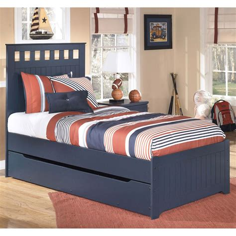 twin bed ashley furniture ashley leo twin trundle bed beds home appliances