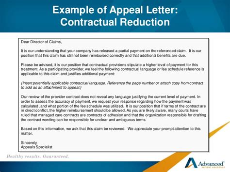 Appeal Letter Pip Best Practices For Handling Complex Liability Claims