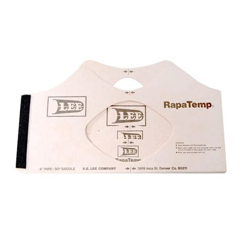 order lee rapatemp pipe fitting template sets r e lee co