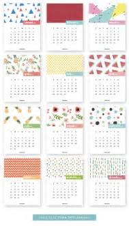 Free Printable Small Desk Calendar 20 Free Printable Calendars For 2017 Hongkiat
