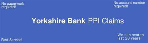 yorks bank bank ppi claim experts free ppi check fast no