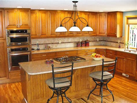quartz countertops oak cabinets and on pinterest idolza image result for pictures of oak cabinets with quartz
