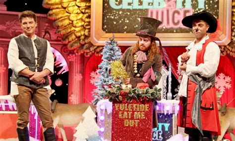celebrity juice tonight cast celebrity juice christmas special what time is it on tv