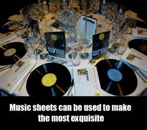 Wedding Centerpieces Glass Vases Classy Music Wedding Theme Ideas How To Organize A Music