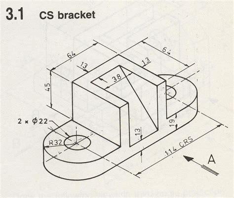 contoh format gambar teknik design teknik