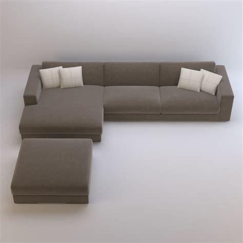 arketipo sofa arketipo best sofa 3d model