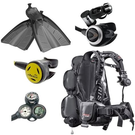 dive equipment packages new aeris dive gear package from leisurepro