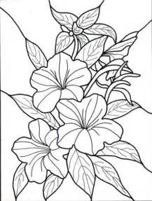 flower coloring pages for adults tropical flowers coloring pages coloring home