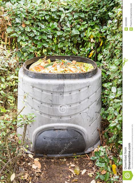Composting Kitchen Waste At Home by Composting Stock Photo Image 62242886