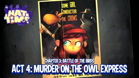 murder in time impressions a hat in time murder on the owl