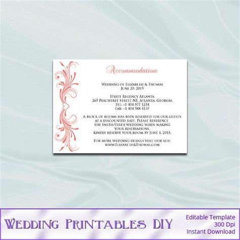 Wedding Enclosure Cards Template by 790 Best Images About Wedding Templates On