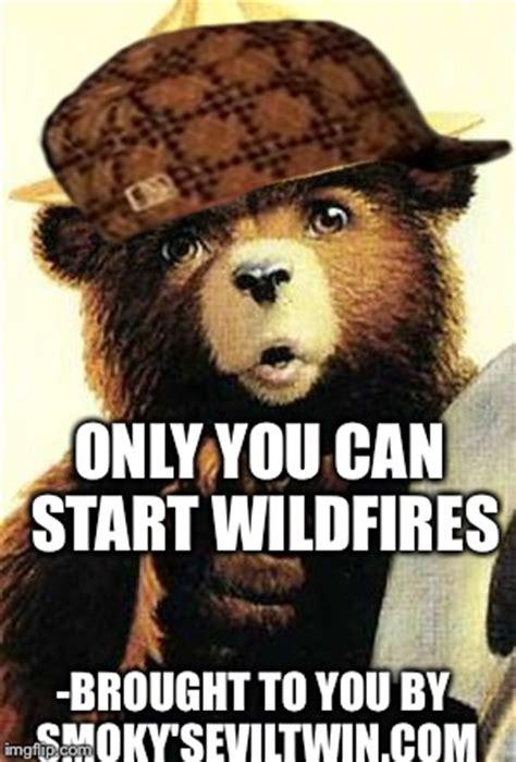 Smokey The Bear Meme - smokey the bear imgflip