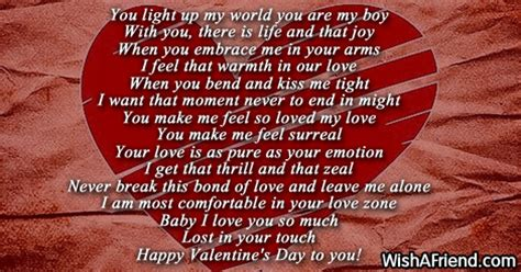 valentines poems for him poems for him