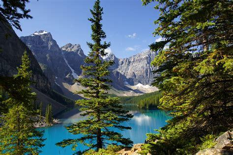mountains lake landscape reflection  wallpaper