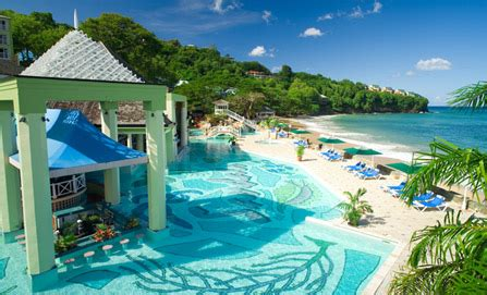 sandals resorts ranked lucia to benefit from antigua pullout antigua