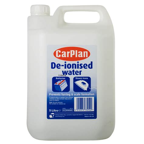 carplan de ionised water battery iron top up distilled 5