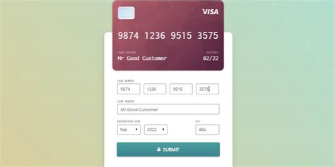 credit card checkout template credit card checkout form bypeople