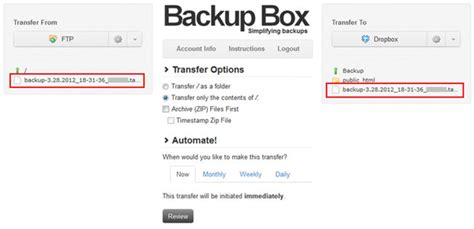 dropbox online only how to automatically backup your website into dropbox