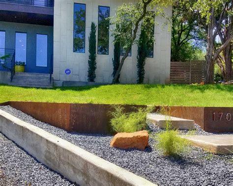 modern xeriscape design austin native landscaping