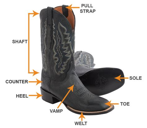boat part names the western boots guide sierra trading post